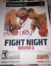 Micky Ward autographed EA Sports Fight Night 11x14 Print PlayStation ESPN Gatti