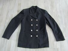 Vintage 50's - 60's Fire Department Uniform Firefighter Dress Jacket Named