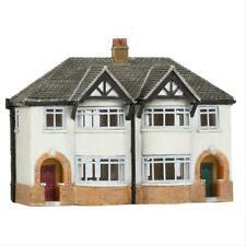 More details for graham farish 42-134 scenecraft 1930s semi detached houses (pre-built)