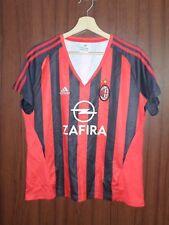 2005 AC MILAN Football Shirt Jersey WOMAN ADIDAS size XL Maglia Camiseta Italy