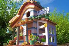 Vogelhaus, Nistkasten, Vogelhäuschen `Gardeners shed`