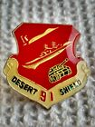 Desert Shield 91 United States Army Military Insignia Pin
