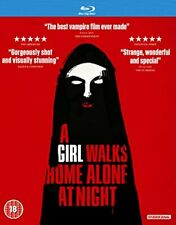 A Girl Walks Home Alone At Night [Blu-ray] [DVD][Region 2]