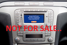 FORD BLAUPUNKT TRAVELPILOT EX SAT NAV RADIO CD PLAYER STEREO DECODE CODE SERVICE