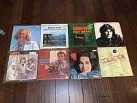 Bundle of 8 Vintage Vinyl LP Records Jimmy Buffet Eydie Gorme Camp Sugar and Mor