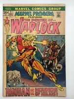 POWER OF WARLOCK #2 BRONZE AGE COMIC BOOK 1972 MARVEL HOUNDS OF HELIOS!