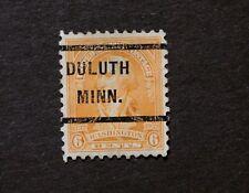 Sc#711 A217 Washington Bicentennial 6 cent - Precancel - Duluth, MN