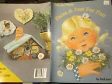 DeLane Paints Faces & Just For Fun Painting Book-Lange-Children/Gardens/Animals/