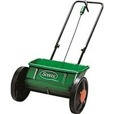 SCOTTS EVENGREEN DROP SPREADER ROCK SALT LAWN FERTILISER SEED SOWER