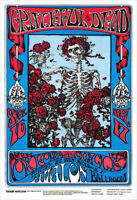 Grateful Dead at Avalon Ballroom concert poster print