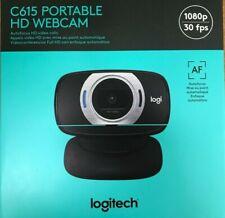 Logitech - C615  - Portable HD Webcam 1080p