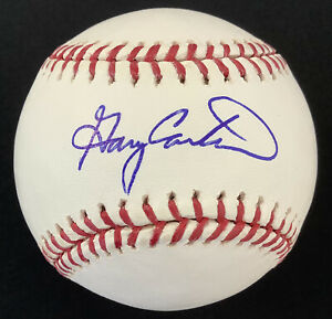 Gary Carter Signed Baseball Bud Selig Montreal Expos NY Mets Autograph HOF JSA
