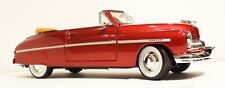 1949 Mercury Convertible 1:24 Diecast Model Car Tampico Red Metallic Flathead V8