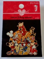 Disney TDR New Year 2007 Mickey Minnie Donald and Pumbaa Pin