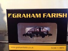 Graham Farish 377-091. 7 Plank End Door Wagon 'North End'.  N Gauge.