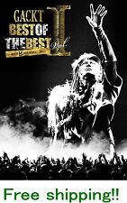 GACKT BEST OF THE BEST I ~40TH BIRTHDAY~ 2013 DVD, 3DISC  220MINS EMS F/S!!