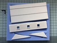 Saltbox roof mould - OO Gauge - DT01 for model railway scenery