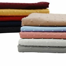 Home Textiles Sewing Clothing Fabrics Breathable Cotton Woven Dyed Patterned New