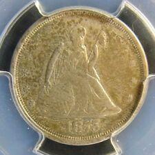1875-S Seated Liberty Twenty Cent PCGS XF 45 Cert# 27709127