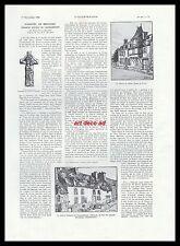 Doc.Ancien Plancoët en Bretagne Plancoet  1932  - 2H