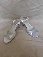 Coloriffics Posh Ivory Satin, Women's Shoes, Size 9.5W