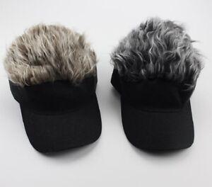 Wig Cap Adjustable Unisex Flair Hair Visor Hat Casual Golf Caps Outdoor Hats