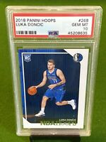 2018 PANINI NBA HOOPS LUKA DONCIC ROOKIE #268 PSA 10 GEM MINT 🔥🔥 MAVERICKS RC