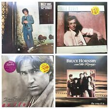 Lot of 4 Vinyl Album LP Billy Joel Eddie Money Dan Fogelberg Bruce Hornsby