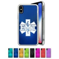 Case Compatible with iPhone X, Xs, XR, Xs Max - EMT Emergency Medical Technician
