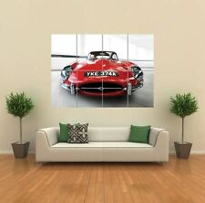 JAGUAR E TYPE CAR NEW GIANT LARGE ART PRINT POSTER PICTURE WALL G768