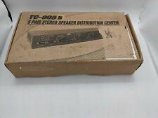 New TC-905B 5 Pair Stereo Speaker Distribution Center - CL2021