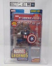 CLASSIC CAPTAIN AMERICA TOY BIZ MARVEL LEGENDS SERIES VIII UNCIRCULATED 90NM+/MT