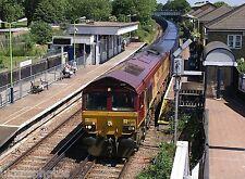 EWS 66001 South Acton 2006 Rail Photo