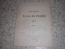 1900.le petit livre du peuple.monarchie royalisme