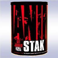 UNIVERSAL NUTRITION ANIMAL STAK (21 PACKS) anabolic test booster stack pak