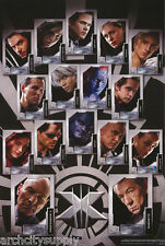 LOT OF 2 POSTERS:MOVIE REPRO : X-MEN - THE LAST STAND - COLLAGE  #8710  RAP102 B
