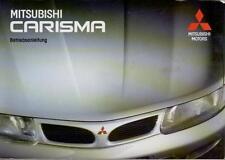 MITSUBISHI CARISMA 1 Betriebsanleitung 1995 Bedienungsanleitung Handbuch  BA