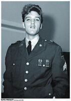 ELVIS PRESLEY POSTER GERMANY MARCH 1960 ARMY UNIFORM