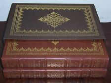 Easton Press Deluxe Limited Ed. LEWIS & CLARK'S JOURNALS OF THE EXPEDITION 2 vol