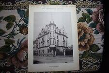 1890 2 / München Haus in der Heßstraße Maxvorstadt Architekt Wintergerst