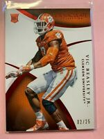 A2120 - 2015 Immaculate Collegiate Multisport Red #199 Vic Beasley Jr/25