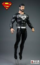 **NEW** Custom Action Figure - BLACK SUIT SUPERMAN - DC Multiverse Figurine