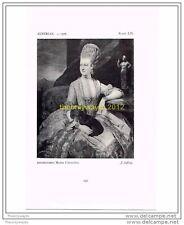 ARCHDUCHESS MARIA CHRISTINA, J ZOFFANY, AUSTRIAN, c1776, FROM HISTORIC COSTUME,