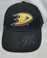 Keven Bieska #2 autograph signed Hat NHL Anahiem Ducks Black