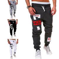Men Harem Pants Jogging Sports Joggers Hip-Hop Gym Trousers Tracksuit Sportswear