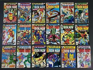 Run of (18) Iron Man (1977-80) #104-140 Marvel Comics More Listed