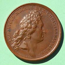 Médaille LOUIS XIV Magnus 1680 Alsace Alsatia in provinciam Redacta par MAUGER