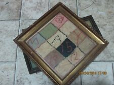 Antique Sampler May 15 1912 Hand Embroidered
