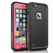 For iPhone 6s Plus & 6 Plus Case Waterproof Shockproof Cover w/ Screen Protector