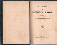 Religione - Assisi - Francescana - Raro - Accattoncelli, 1880